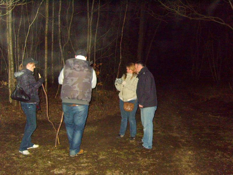 Oldbury Hill Fort ghost hunt - Click to enlarge